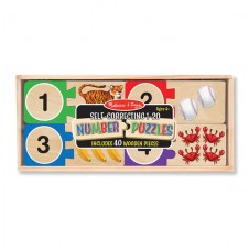 Melissa & Doug- Self Correcting 1-20 Number Puzzles