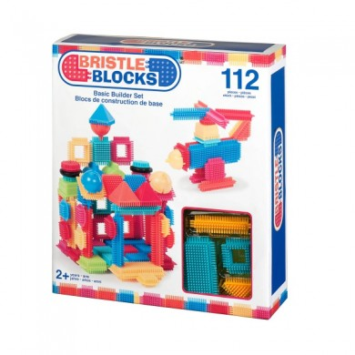 Bristle Blocks- Basic Builder Set - 112 Pieces