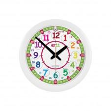 Easy Read Time Teacher 29cm Rainbow 24-Hour Clock