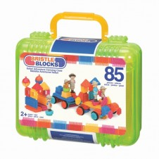 Bristle Blocks- Big Value Case- 85 Pieces