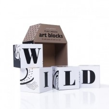 Wee Gallery Playhouse Art Blocks- Wild