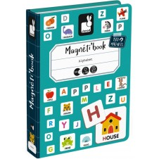 JANOD ENGLISH ALPHABET MAGNETI'BOOK