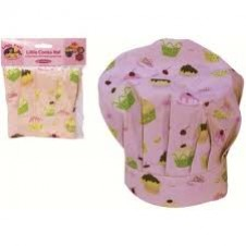 Little Pals- Apron & Chef's Hat Set - Pink