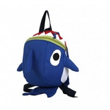 Mama Siesta Blue Shark Bag with Safety Harness