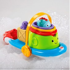 Fisher-Price- Stackin' Tubtime Boat