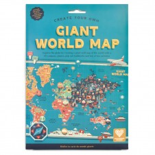C S - CREATE YOUR OWN GIANT WORLD MAP