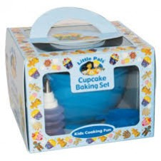 Little Pals- Cupcake Baking Set - Blue