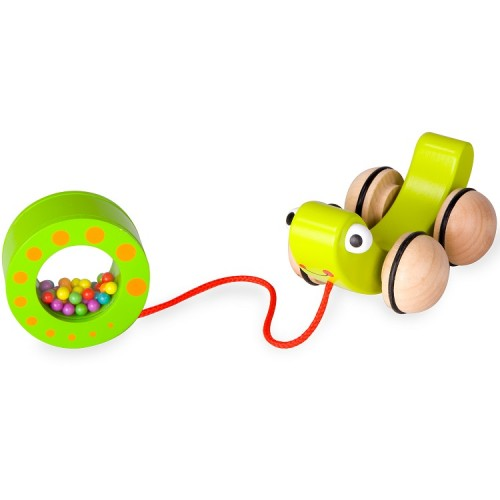 Classic World Rolling Snail and Rattle