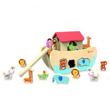Classic World - Noah's Ark Shape Sorter Toy