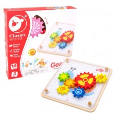 Classic World Gears Activity Set With Cards