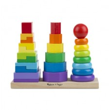 Melissa & Doug- Geometric Stacker