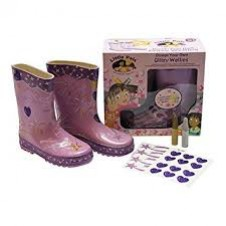 Little Pals- Glitzy Wellies - Lilac (Small)