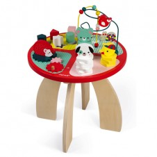 JANOD BABY FOREST ACTIVITY TABLE (WOOD)