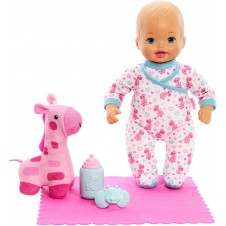 Little Mommy Goodnight Snuggles Baby Doll and Giraffe Plush
