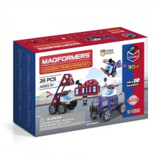 Magformers Amazing Police And Rescue Set 26