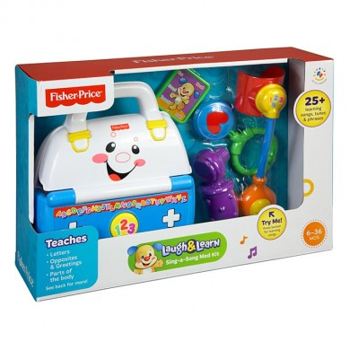 Fisher-Price- Laugh & Learn (Sing-A-Song) Med Kit