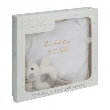 Bambino My First Outfit & Rattle Set