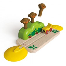 Hape- Monkey Pop-Up Track