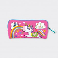 Rachel Ellen Neoprene Pencil Case - Girls Rule