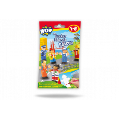 Wow Toys- My Pocket Friends-Rescue