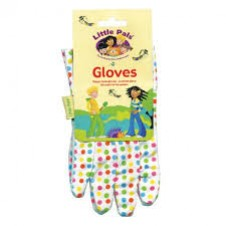 Little Pals-  Gardens Tools - Polka Dot Gloves