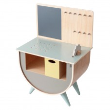 Sebra Play tool bench, warm grey