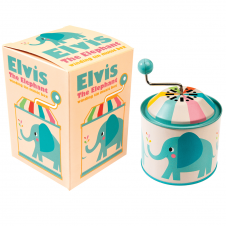 Rex Elvis The Elephant Music Box