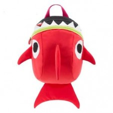 Mama Siesta Red Shark Bag with Safety Harness