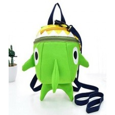 Mama Siesta Green Shark Bag with Safety Harness