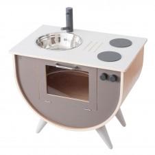 Sebra Play kitchen, warm grey