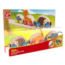 Hape- Tactile Animal Train