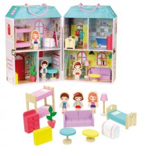 Vilac Doll House in Suitcase