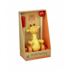 Boxed Push Along Giraffe