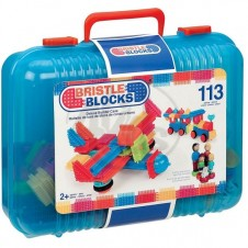 Bristle Blocks Deluxe Builder Case - 113 Pieces