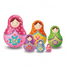 Paint Your Own Trinket Box- Russian Doll