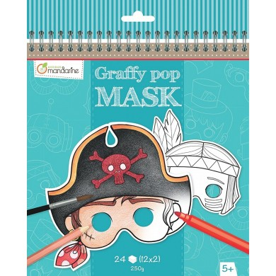 Graffy Pop Mask - Boy