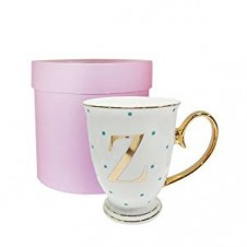 Z-Alphabet Spotty Metallic Mug