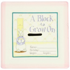 A Block To Grow On - Pink
