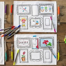 The Doodle Placemat Set - Frame