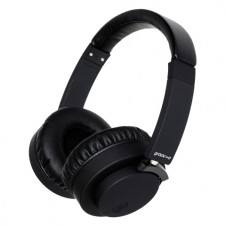 Wireless or Wired Stereo Headphones – Black
