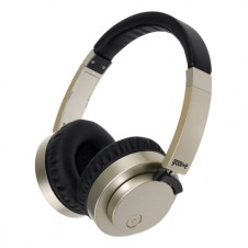 Wireless or Wired Stereo Headphones – Gold