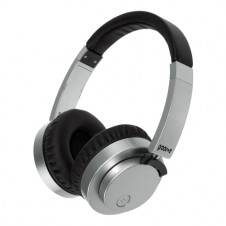 Wireless or Wired Stereo Headphones – Silver