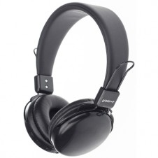 Wireless Bluetooth Headphones with Mic - Black