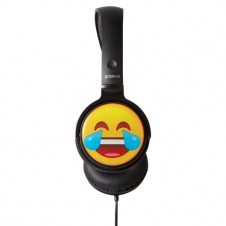 EarMOJI's DJ Style Stereo Headphones - Laughing Face