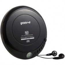 Retro Series Personal CD Player – Black