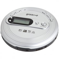Retro Series Personal CD Player with Radio - Silver