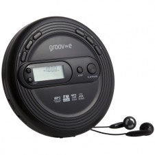 Retro Series Personal CD Player with Radio - Black