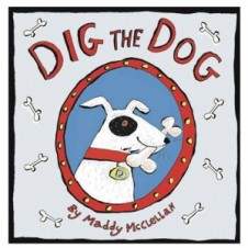 House of Marbles Dig The Dog Mini Board Book