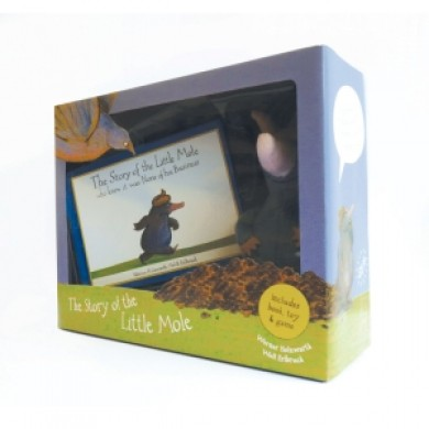 House of Marbles Little Mole Book and Toy