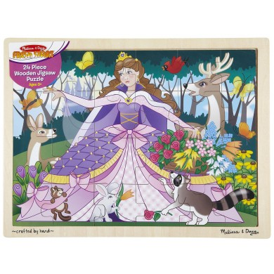Melissa & Doug Woodland Princess Jigsaw (24 pc)